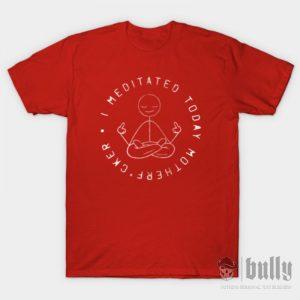 забавни-медитация-тениска-були-бг-червена