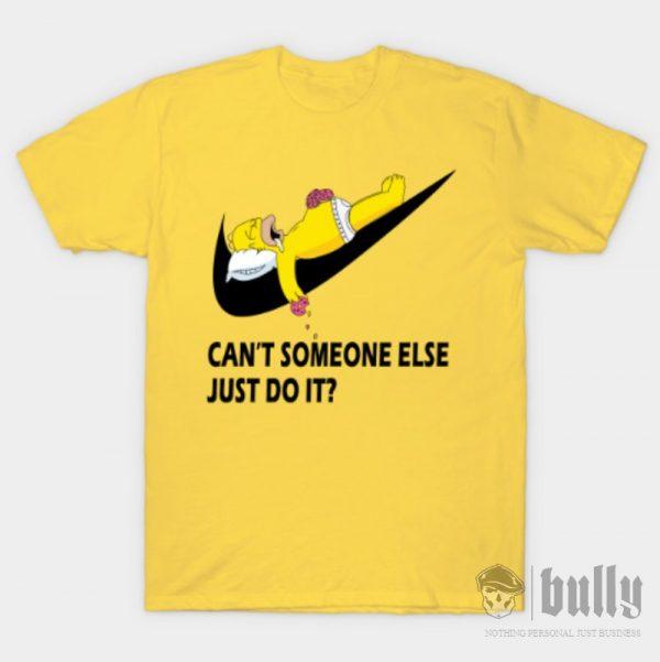забавни-мързел-тениска-були-бг-жълта