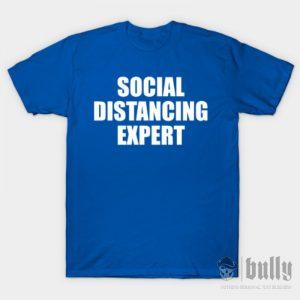 забавни-социална-дистанция-тениска-були-бг-синя