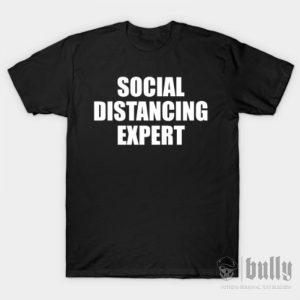 забавни-социална-дистанция-тениска-були-бг-черна