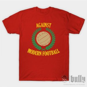 ултрас-срещу-модерния-футбол-тениска-були-бг-червена-ink