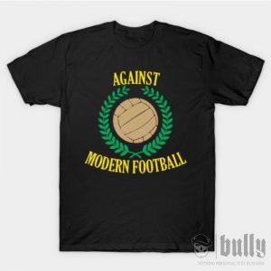 ултрас-срещу-модерния-футбол-тениска-були-бг-черна-ink