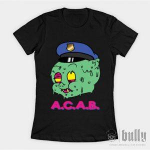 ултрас-acab-pig-женска-тениска-були-бг-черна--ink