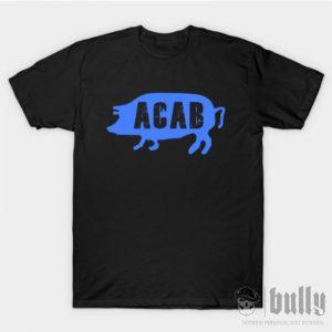 ултрас-acab-pig-тениска-були-бг-черна-ink