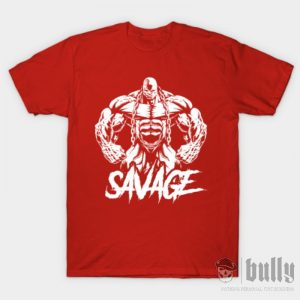 фитнес-дивак-мъжка-тениска-червена-ink