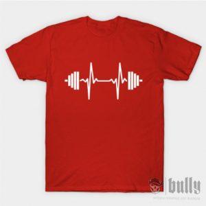фитнес-пулс-тениска-червена-були-бг-ink