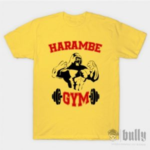 фитнес-beast-тениска-були-бг-жълта-ink