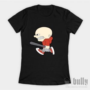 хулиган-женска-тениска-черна-були-бг-ink