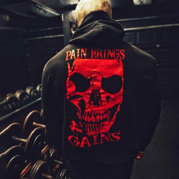 болка-победа-фитнес-харкор-суитшърт-були-бг