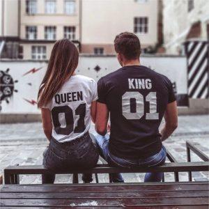 крал-и-кралица-тениски-за-двойки-були-бг-черна