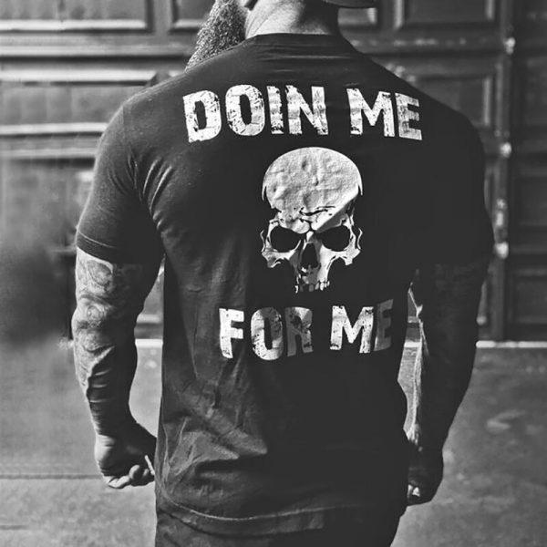 мотивация-череп-фитнес-тениска-хардкор-були-бг